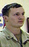Army Pfc. Darren A. DeBlanc