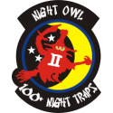 100 Night Traps F4  Decal
