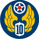 10th Air Force Decal