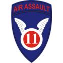 11th Air Assault Div Decal