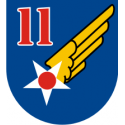 11th Air Force Decal