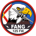 125th Fighter Wing FANG  Decal