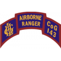 143rd Infantry Airborne Rangers Company G  Decal