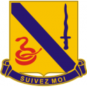 14th Cavalry Regiment Decal