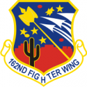 162nd Fighter Wing  Decal
