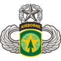 16th MP Brigade - Master Jump Wings  Decal