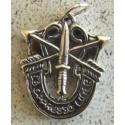 Special Forces Charm Heavy Sterling Silver