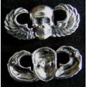 Vietnam SF MACV SOG Skull Paratrooper Wings Sterling