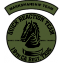 19th Military Police Regiment Quick Response Team (Green) Decal