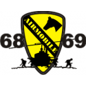1st Cavalry Air Mobile Decal