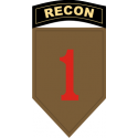 1st ID Recon Decal
