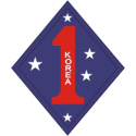 1st Marine Division Korea Decal