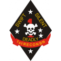 1st Marine Recon Decal