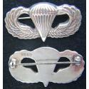 WWII Paratrooper wings BB&B design Sterling