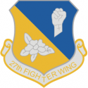 27th Fighter Wing Decal