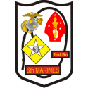 2nd Bn 6th Marine Regiment Decal