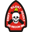 2nd Recon Battalion Decal