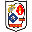 3rd Bn 6th Marine Regiment Decal