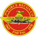 3rd Force Recon FMFPAC Decal