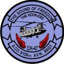5-159th Aviation Regt A Company Decal