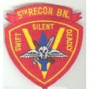 USMC 5th Recon BN Patch