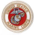 USMC EGA CREST WHITE Patch