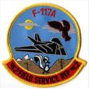 F117A Field Service Patch