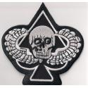 Death Skull Ace Patch