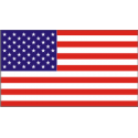 50 Star Flag Decal