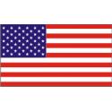 50 Star Flag Decal