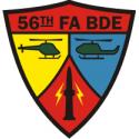 56th FA Bde Decal