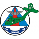 61st Aviation Co. Decal