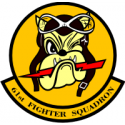 61st Fighter Squadron Decal