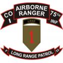 75th ABN Rangers I Company 1st ID LRP