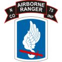 75th Rangers N Co 173rd Abn Decal