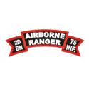 2d Bn 75th Rangers Abn Decal