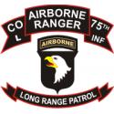 75th Rangers Long Range Patrol 101st ABN