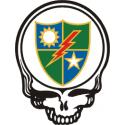 75th Rangers Skull Decal