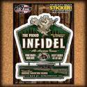 The Proud Infidel Sticker
