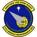 91st Maintenance Squadron Decal