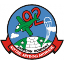 92nd AVCO Decal
