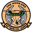 92nd Aviation Company (ASH) Decal