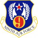 9th Air Force Decal