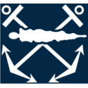 Assault Boat Coxswain (Blue)  Decal