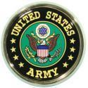United States Army Crest Auto Chrome Emblem