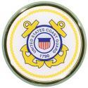 US Coast Guard Crest Auto Chrome Emblem