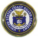 US Coast Guard Academy Crest Auto Chrome Emblem