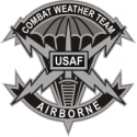 Air Force Combat Weather Team  Decal