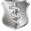 USAF Medical Corps Basic Badge Decal
