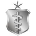 USAF Medical Corps Senior Badge Decal